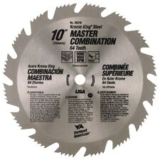 "10""64T Krome King® Master Combination Circular Saw Blade 25216"