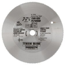 "7-1/4"" Thin Rim Plywood Circular Saw Blade 25350"