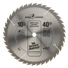 "10"" 40T Smooth Cut Circular Saw Blade  27256"