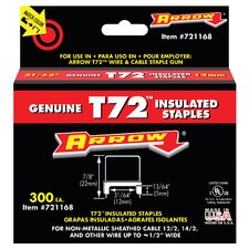 "31/64"" T72 Insulated Staples 721168"