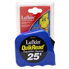 25' QuickRead™ Power Tape QRL525MP