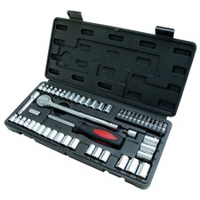 <strong>GREAT NECK</strong> 54 Piece Ratchet & Socket Set TK54