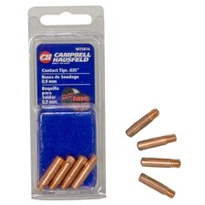 "<strong>Campbell Hausfeld</strong> 4 Piece 0.035"" Contact Tip Set WT501400AJ"