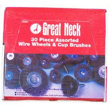 Assorted Wire Wheels 30 Piece Display WB30D