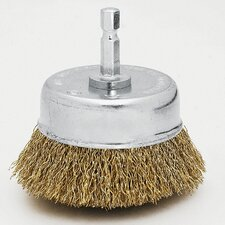 "1-3/4"" Fine Cup Wire Brush 16782"
