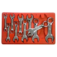 Wrench Set Stubby 7/16 - 1 10Pc