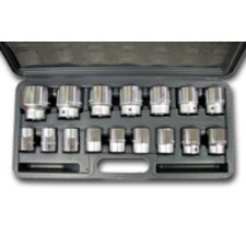 Socket Set 3/4Dr Metric 16Pc