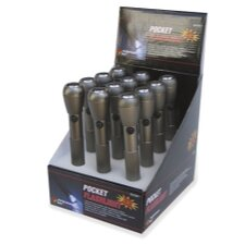"Mini Flashlight - 7"" (Display Of 12)"