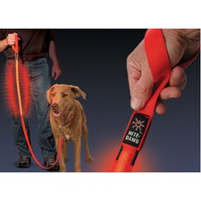 Nite Dawg LED Dog Leash in Red