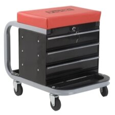 300 Lbs. Creeper Seat Tool Box