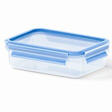 Emsa by Frieling 28 Oz. 3D Food Storage Shallow Rectangular Clip and Close Container