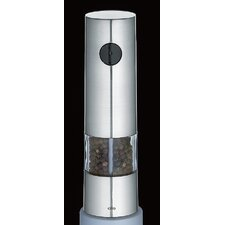 Monza Electric Pepper Mill in Chrome Satin