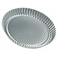 "<strong>Frieling</strong> Zenker Bakeware by Frieling 11"" Tin-Plated Steel Flan / Tart Pan"