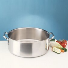 <strong>Frieling</strong> Sitram Catering 26.4 Qt. Stainless Steel Round Braiser