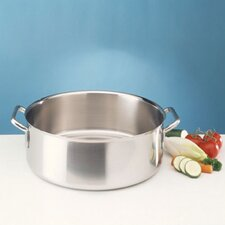 Sitram Catering Stainless Steel Round Braiser