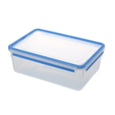 Emsa 3D Food Storage Deep Rectangular 186 fl oz Clip and Close Container