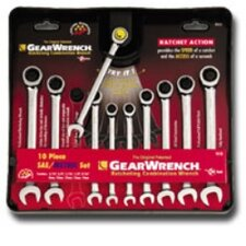 Gearwrench Set 10Pc Comb Sae/Metric