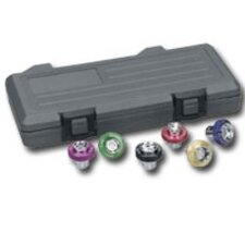 6 Pc Magnetic Drain Plug Socket Set