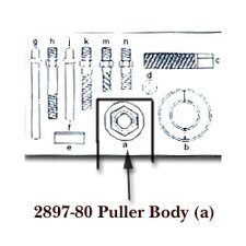 Puller Body For Kdt2897