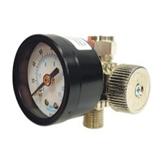 Air Adjustment Valve With Gage