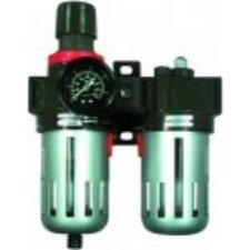 Filter Regulatur And Lubricator With Gauge