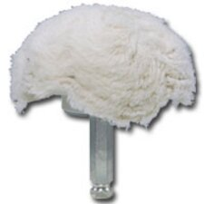 "4"" 100% Cotton Mushroom Shaped Buff"