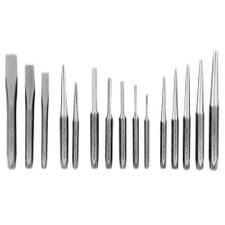 Punch & Chisel Set 15 Pc. In Kit Bag