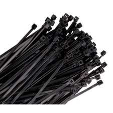 Wire Tie 7In. Black 100/Pk 50Lb Tensile