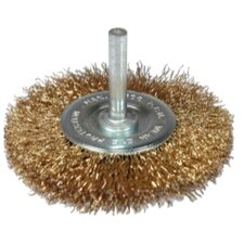 "Wheel 3"" Wire Crimped Coarse"
