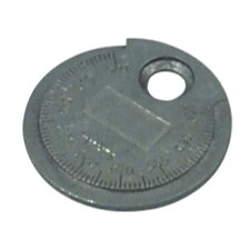 Spark Plug Gauge Coin Type .020 To .100In.