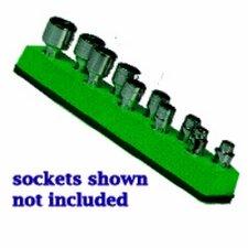 Soc Hol 1/4U Mag Green Neon