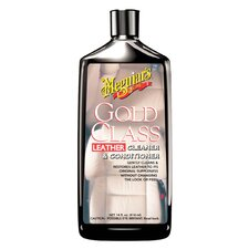 <strong>Meguiars</strong> 14 Oz. Gold Class Leather Cleaner and Conditioner