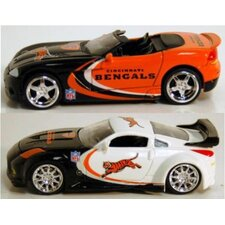 NFL '06 Dodge Viper Car Vehicle Set (Set of 6)