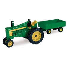 1/64 John Deere 720 Tractor and Barge Wagon