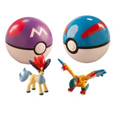 Pokemon Clip and Carry Pokeball (Set of 2)