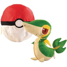 <strong>ERTL</strong> Pokemon Transforming Snivy and Pokeball