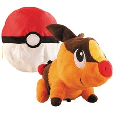 Pokemon Transforming Tepig and Pokeball