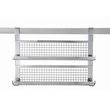 Stainless Steel Spice Rack with Double Shelf