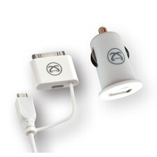 Apple Licensed Universal USB Car Charger and Cable
