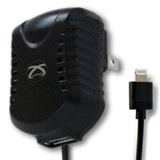 USB Apple Licensed Port AC Charger with Lightning Connector