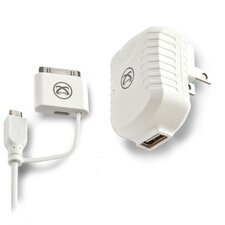 Apple Licensed USB AC Charger with 30 Pin Cable