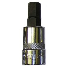 9 mm Hex Bit, 3/8 Sq.Dr. Bit Holder