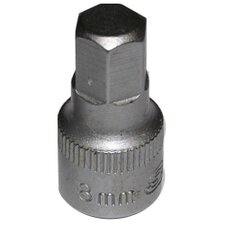 Soc 8 mm 1/4D Hex 6Pt Male