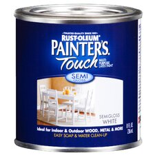 <strong>PaintersTouch</strong> White Latex Multi-Purpose Paint Semi-Gloss