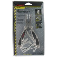 Pro Line LED Pocket Pliers Multi Tool