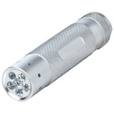 LED 6 Chip Tactical Flashlight