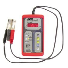 Digital Battery Tester 12V W/Red Boot