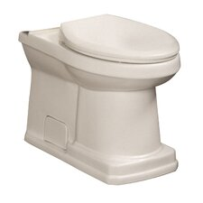 Cirtangular Elongated Toilet Bowl Only