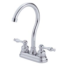 Sheridan Double Handle Centerset Bar Faucet