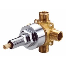 Single Handle 4-Port Shower Diverter Valve